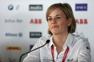 Susie Wolff, Team Principal, Venturi during press conference