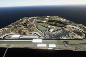 Artist impression van Circuit Zandvoort na verbouwing