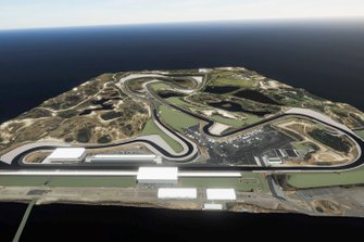 Vue d'artiste du Circuit de Zandvoort