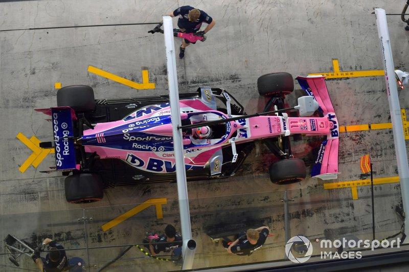 10 - Sergio Perez, 1min37s055
