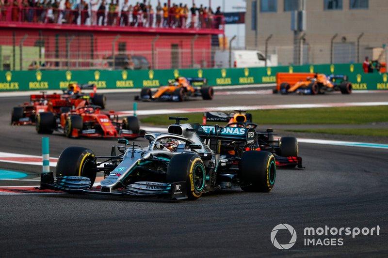 Abu Dhabi GP: Lewis Hamilton, Mercedes