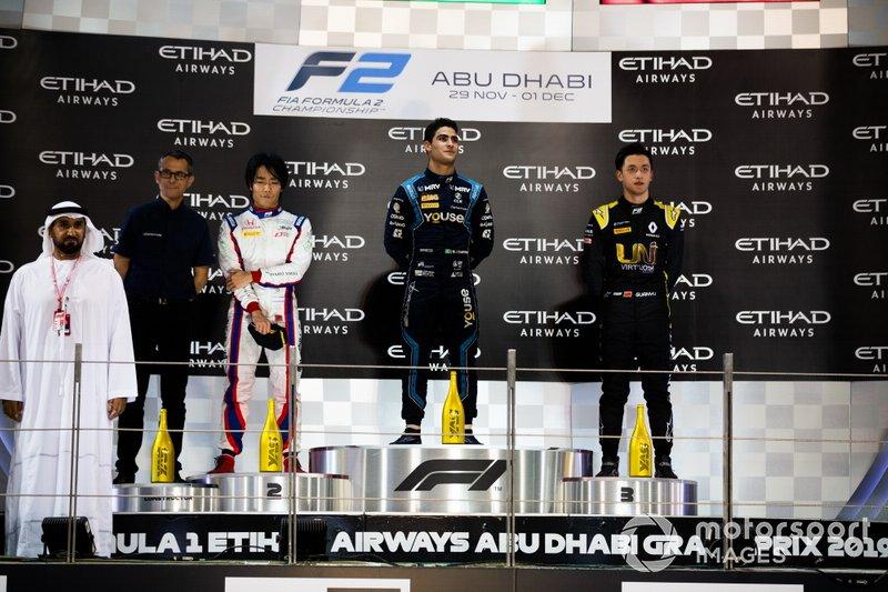 Sergio Sette Camara, Dams Nobuharu Matsushita, Carlin and Guanyu Zhou, UNI Virtuosi Racing