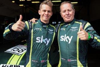 #156 AMR Performance Centre Aston Martin Vantage AMR GT4: Alexander Brundle, Martin Brundle
