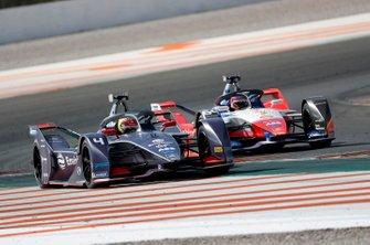 Robin Frijns, Envision Virgin Racing, Audi e-tron FE06 Jérôme d'Ambrosio, Mahindra Racing, M6Electro