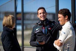 Ian James, Team Principal, Mercedes Benz EQ avec Nyck de Vries, Mercedes Benz EQ