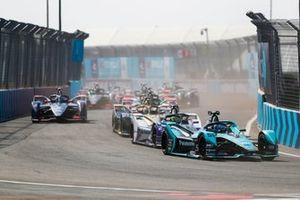 James Calado, Jaguar Racing, Jaguar I-Type 4, Alexander Sims, BMW I Andretti Motorsports, BMW iFE.20, Jean-Eric Vergne, DS Techeetah, DS E-Tense FE20