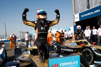 Il vincitore della gara Antonio Felix da Costa, DS Techeetah, DS E-Tense FE20