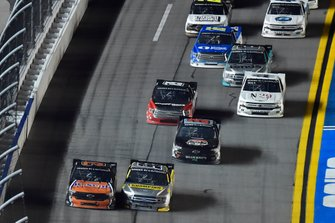 Race winner Grant Enfinger, ThorSport Racing, Ford F-150 Champion/ Curb Records