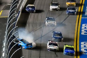 Crash of Ryan Newman, Roush Fenway Racing, Ford Mustang Koch Industries
