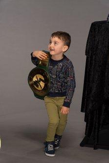 Brexton Busch con la WWE 24/7 championship