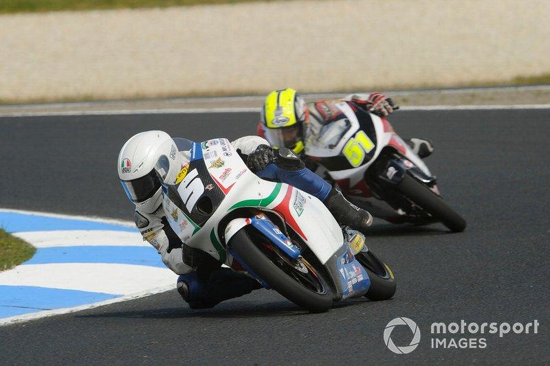 Moto3, Romano Fenati a Philip Island del 2012