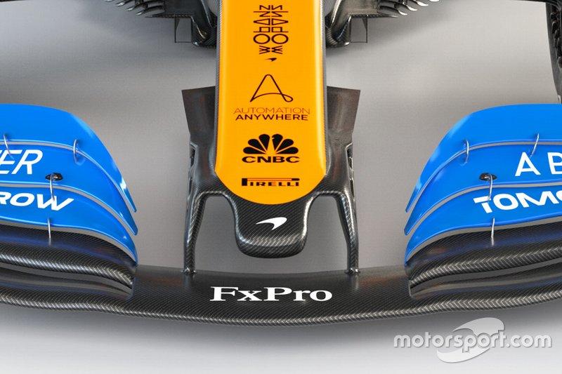 Носовой обтекатель McLaren MCL35