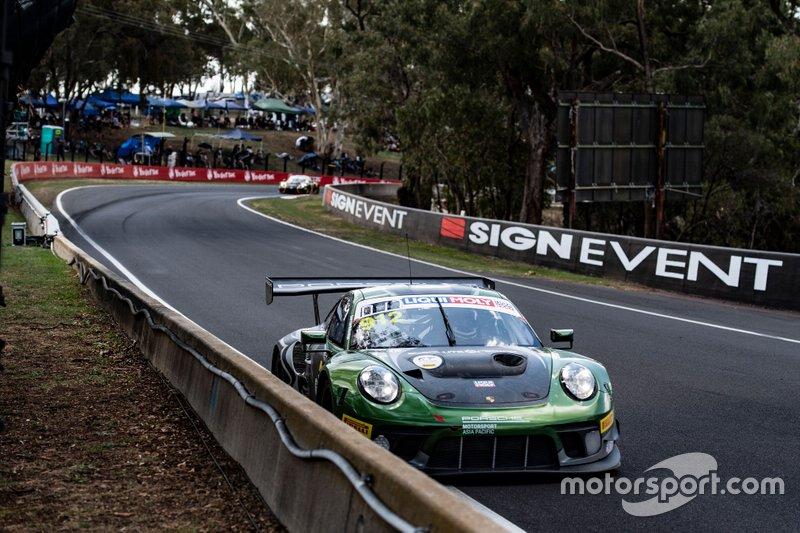 #912 Absolute Racing Porsche GT3 R: Dirk Werner, Matteo Cairoli, Thomas Preining