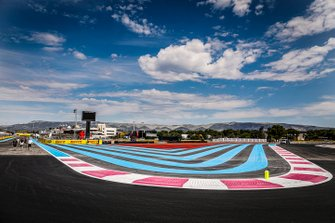 Pista della gara, GP di Francia