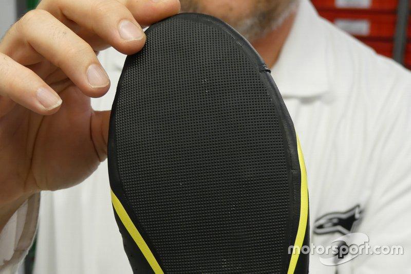 Scarpe da gara della Alpinestars