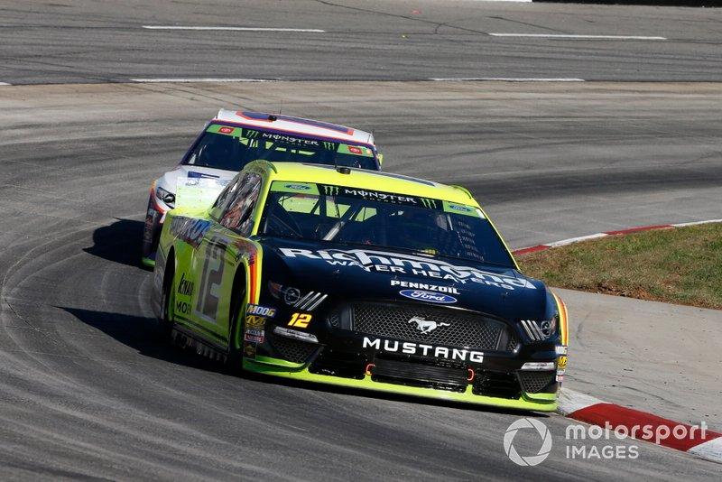 Ryan Blaney, Team Penske, Ford Mustang Menards/Richmond