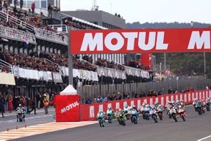 Start zum Moto3-Saisonfinale 2019 in Valencia