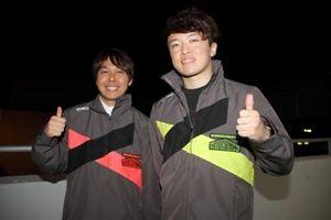 富田竜一郎、宮田莉朋(Audi Team Hitotsuyama)