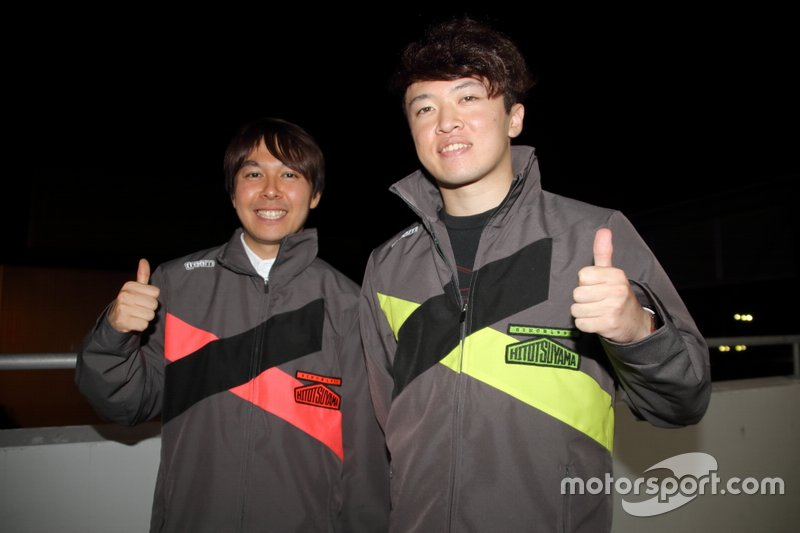 富田竜一郎、宮田莉朋(Audi Team Hitotsuyama)