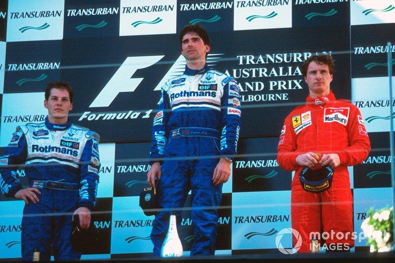 Jacques Villeneuve - Austrália 1996 (2º)