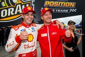 Polesitter Scott McLaughlin, Alexandre Premat, DJR Team Penske Ford