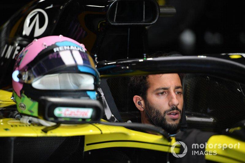 8º Daniel Ricciardo, Renault F1 Team: 49 puntos (baja tres posiciones respecto a 2018)