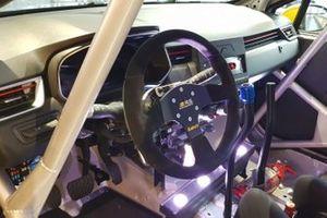Renault Clio Rallye, dettaglio del volante