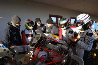 Un momento operativo dello Stage Valutativo ACI Sport