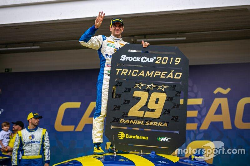 Stock Car: Daniel Serra (pilotos) e Eurofarma RC (equipes)