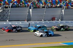 William Byron, Hendrick Motorsports, Chevrolet Camaro Liberty University, Ryan Newman, Roush Fenway Racing, Ford Mustang Koch Industries and Kyle Larson, Chip Ganassi Racing, Chevrolet Camaro AdventHealth