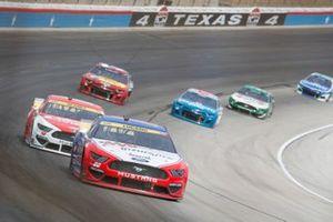 Joey Logano, Team Penske, Ford Mustang AAA Insurance, Ryan Blaney, Team Penske, Ford Mustang DEX Imaging