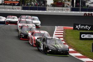 Ty Gibbs, Joe Gibbs Racing, Toyota Supra Monster Energy and Brandon Jones, Joe Gibbs Racing, Toyota Supra Toyota