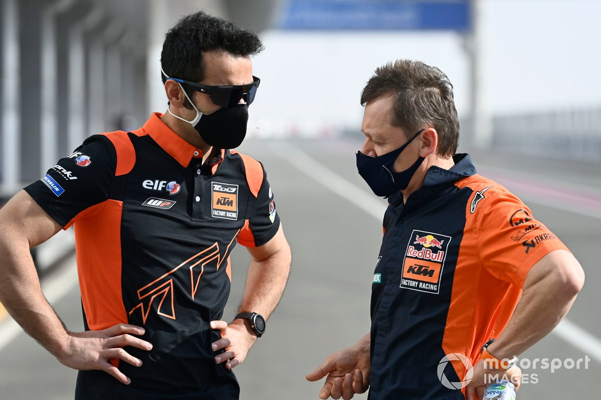 Danilo Petrucci, Red Bull KTM Tech 3, Mike Leitner, KTM