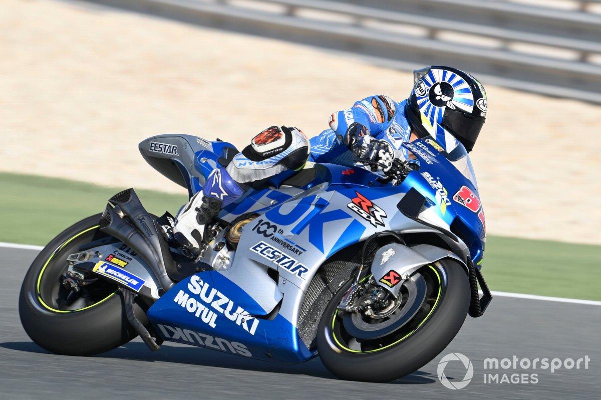 29º Takuya Tsuda, Team Suzuki MotoGP - 1:57.795