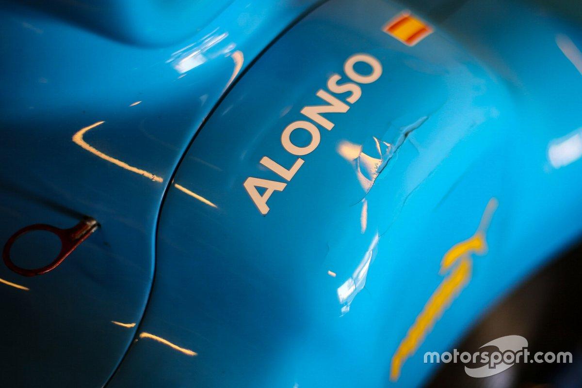 Logo of Fernando Alonso, Renault R25