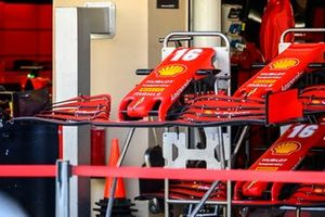 Front wings for the car of Charles Leclerc, Ferrari SF1000