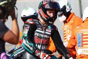Fabio Quartararo, Petronas Yamaha SRT dopo l'incidente