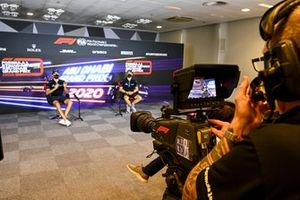 Nicholas Latifi, Williams Racing and Jack Aitken, Williams Racing in the press conference
