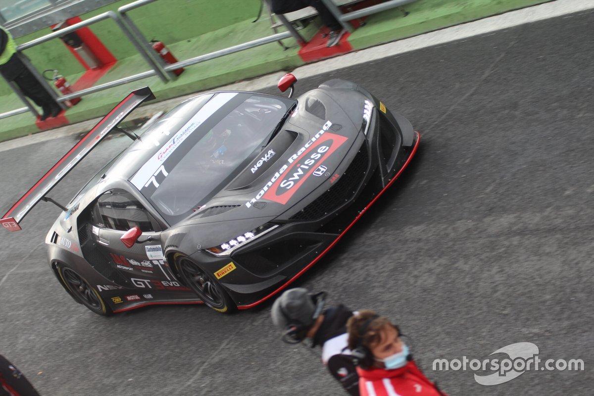 Marco Bonanomi, Luca Magnoni, Nova Race, Honda NSX GT3 Evo