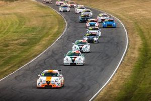 Jordan Cox, Gary Rogers Motorsport leads