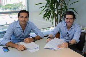 Nelsinho Piquet e Rodrigo Mello