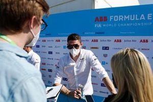 Edoardo Mortara, Venturi Racing, is interviewed