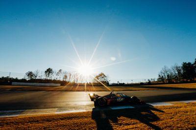 Barber Motorsports Park test de febrero