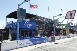 Boxenplatz: Ricky Stenhouse Jr., JTG Daugherty Racing