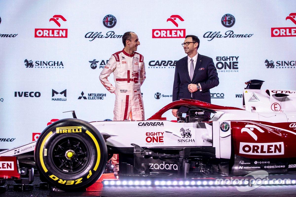 Robert Kubica, Alfa Romeo Racing, Daniel Obajtek, PKN Orlen/CEO