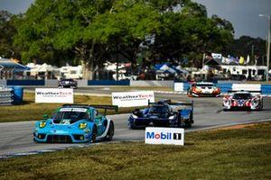 La Porsche 911 GT3 R GTD #16 du Wright Motorsports (Patrick Long, Ryan Hardwick, Jan Heylen)