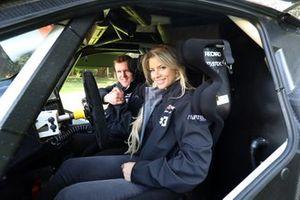 Christine Giampaoli and Oliver Bennett,Hispano Suiza Extreme E