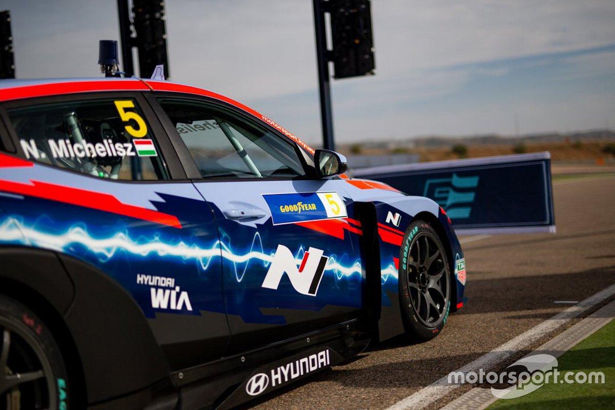Norbert Michelisz, Hyundai Motorsport, Hyundai Veloster N ETCR