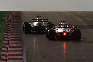 Antonio Giovinazzi, Alfa Romeo Racing C39, Sergio Perez, Racing Point RP20