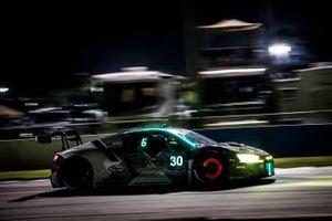 #30 Team Hardpoint Audi R8 LMS GT3, GTD: Rob Ferriol, Andrew Davis, Pierre Kaffer